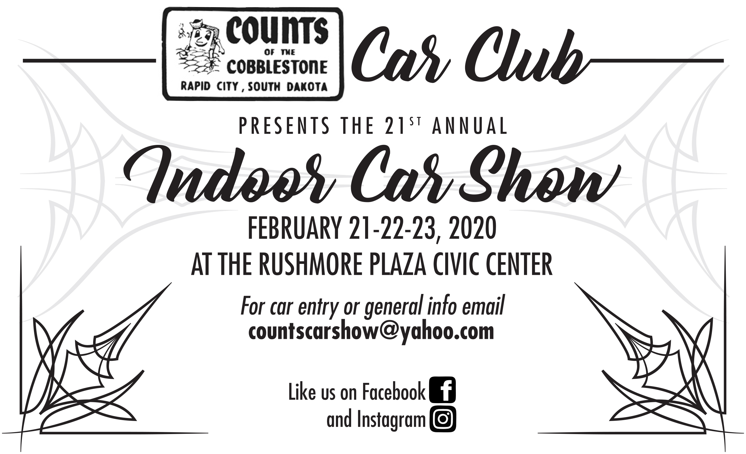 21st_Car_Show_bw_flyer